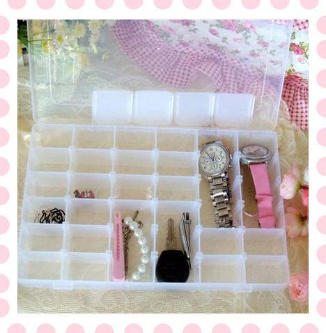 2018 Diy 36 Slot Jewellery Storage Box Travel Watch Earring Case