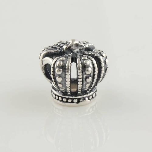 2015 100% 925 de alta qualidade de prata esterlina coroa charme Bead serve Pandora europeus jóias pulseiras colares pingentes