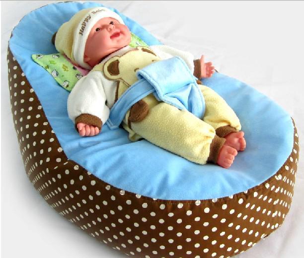 2017 Baby Toddler Kids Portable Bean Bag Seat Snuggle