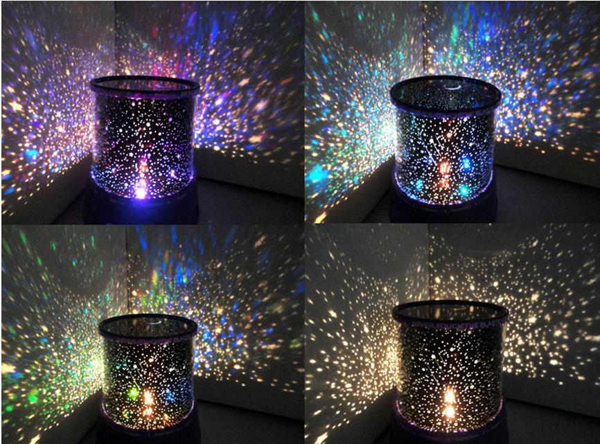 Buy Colorful Cosmos Stars Laser Led Projector Star
