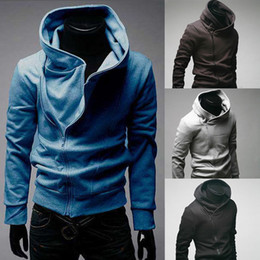 Wholesale Cosplay Sweaters - New Assassin's Creed 3 Desmond Miles Hoodie Jacket sweater Top costume cosplay