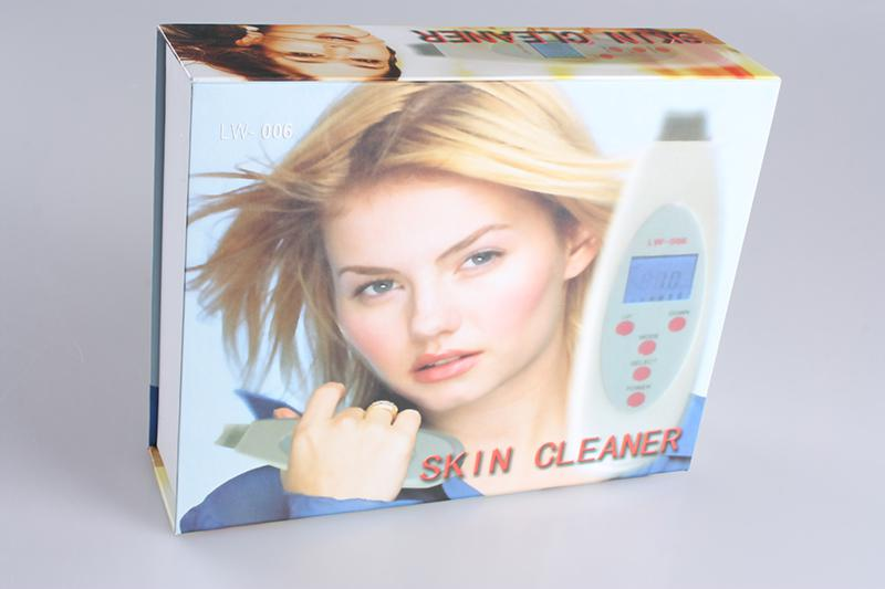 Display LCD multifunzionale portatile ultrasonico della pulitrice della lavante della pelle 4 modi