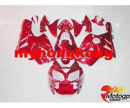 Wholesale Kawasaki Zx12r Fairings - Kawasaki zx12r ZX 12R 03 02 04 Fairing Bodywork Kits 2002 2004 Racing MotoGP Red