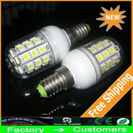 Wholesale E14 Corn 6w - LED Corn Bulb 5050 SMD 30 LED Light 6W With Cover E27 G9 E14 B22 GU10 360 degree High Power Home Lamp Warm White White Energy Saving lights