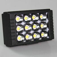 Wholesale Video Light 126 - WanSen W12 LED Video Camera Light For EOS 5D II 7D 550Dstronger than CN-126
