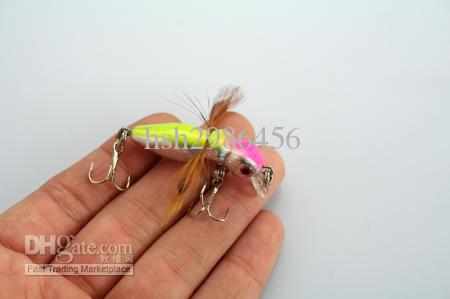 LOCUST FISHING LURES INSECT 후크 3.4g / 4.5cm
