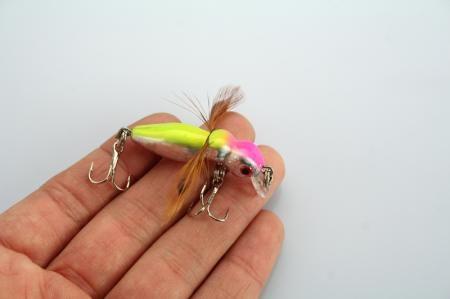 LOCUST FISHING LURES INSECT HAKEN 3,4 g / 4,5 cm
