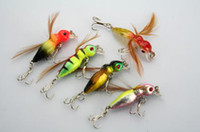Wholesale insect baits - LOCUST FISHING LURES INSECT HOOKS 3.4g 4.5cm