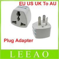 Wholesale Socket Outlet Converter - Low Price 300pcs lot Universal EU US UK to AU AC Power Plug Travel Adapter Outlet Converter Socket