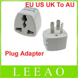 Wholesale Low Socket - Low Price 300pcs lot Universal EU US UK to AU AC Power Plug Travel Adapter Outlet Converter Socket