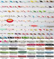polka dots солома бесплатная доставка оптовых-Бесплатная доставка бумажные соломинки, Шеврон узоры полосатый горошек питьевой бумаги соломинки 92