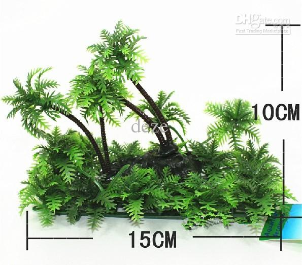 Artificial Plastic Plant For Aquarium Fish Tank Ornament Landscape  Decoration 15cm L Online With $13.87/Piece On Dezeu0027s Store | DHgate.com