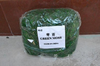 High quatity green moss be used for home decoration and flow...