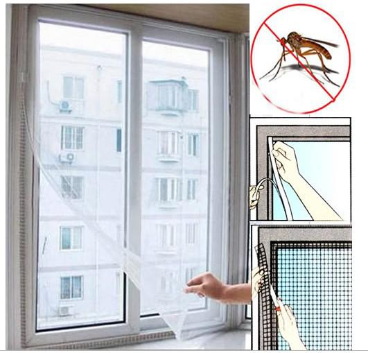 Home Large White Window Screen Mesh Net Insect Fly Bug