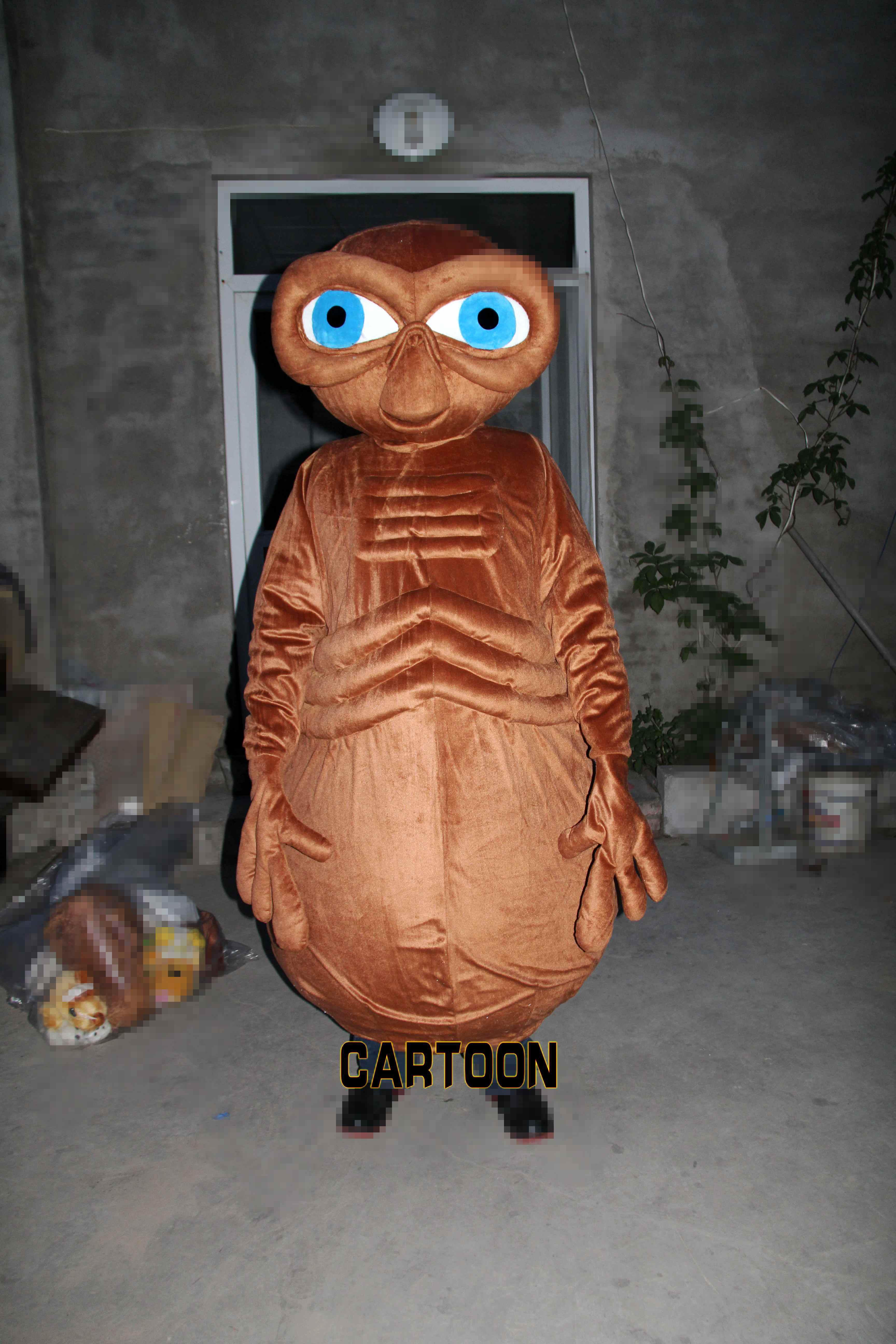 Extraterrestrial Mascot Costume Fancy Dress Adult Size Costume ...