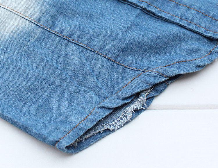 Meninos 2013 Denim Camisas Longo-Sleeved Camisas Primavera Outono Estilo Tops Vestuário Infantil