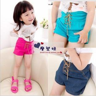 Girls Korean Style High Waist Candy Color Shorts Hot Sale 2013 ...