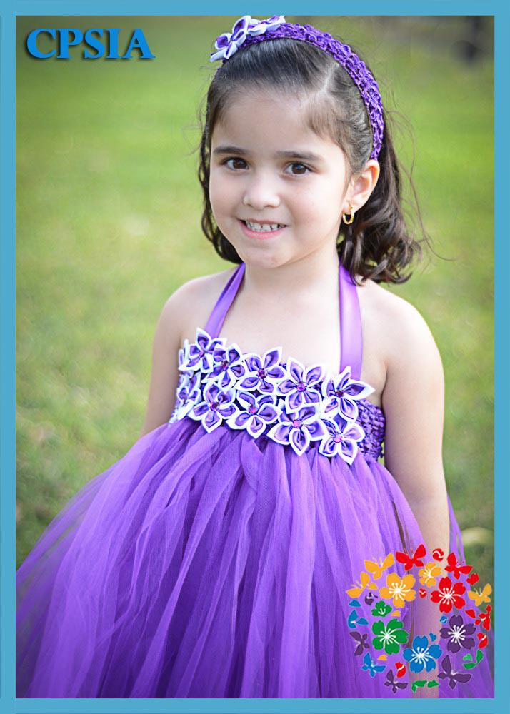 Cute Babies With Purple Dress Information Keywords And Pictures