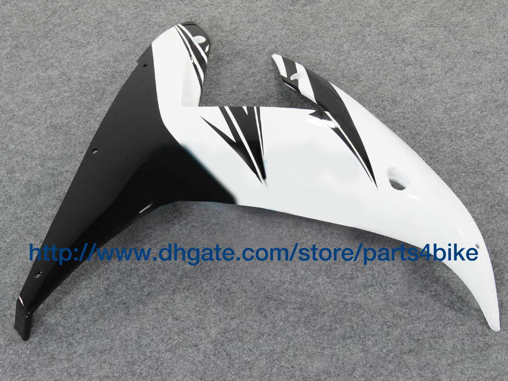 Kit de carenado para YAMAHA YZF R1 2002 yzfr1 2002 yzf r1 02 03 kit de carenado plateado negro blanco RX6b