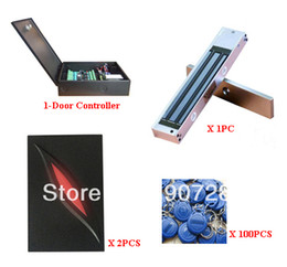 Wholesale Door Access Complete - Complete Single Door TCP IP Networking Two Way RFID Proximity Card Access Control System
