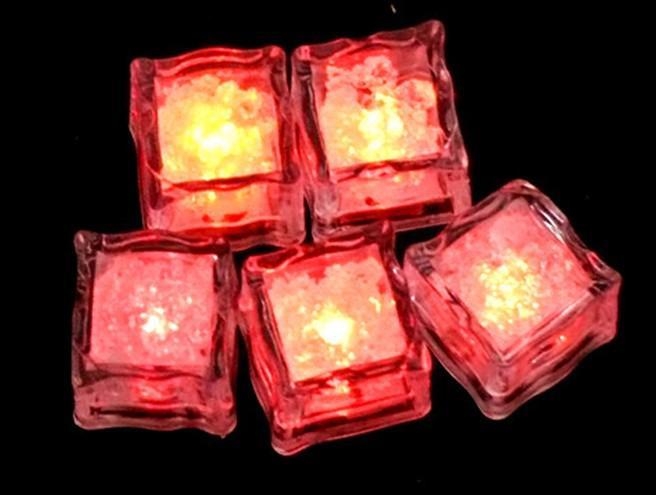 100 adet * LED Buz Küp Işıklar Düğün Parti Işıklar Noel Balon Doğum Günü Partisi Dekorasyon