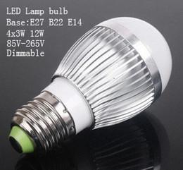 Dimmable Energy Saving Bulbs Canada - Energy saving AC85-265V 12V 9W 12W E27 B22 dimmable  non-dimmable LED Bulb LED Spotlight ,free shipping