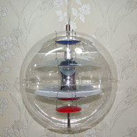 Wholesale Verner Panton Vp Light - Dia 40CM Verner Panton VP Globe Pendant LAMP +free shipping