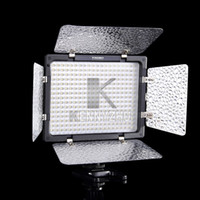 Wholesale Illumination For Cameras - New YN-300 LED 300 Leds Illumination Dimming 5500K Video Light For SLR Camera
