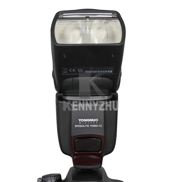 YONGNUO Upgraded YN560 YN-560 III Wireless LCD Flash Speedlite Flashlight For DSLR Camera Canon Nikon Pentax