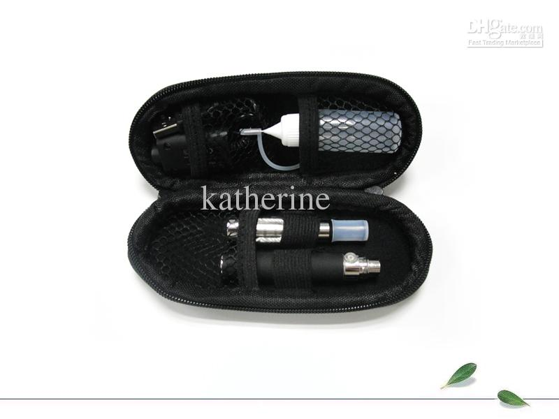 Ego t CE4 Electronic Cigarette Kit with Zipper Cigarettes Case E-cig One Battery One Atomizer Various Colors Fashion Design Good Quality