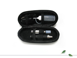 Wholesale Electronic Cigarette Ego Battery Designs - Ego t CE4 Electronic Cigarette Kit with Zipper Cigarettes Case E-cig One Battery One Atomizer Various Colors Fashion Design Good Quality
