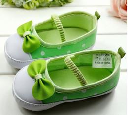 Wholesale Wholesale Fresh Shoes - Soft-soled baby shoes baby shoes baby shoes small fresh green baby shoes