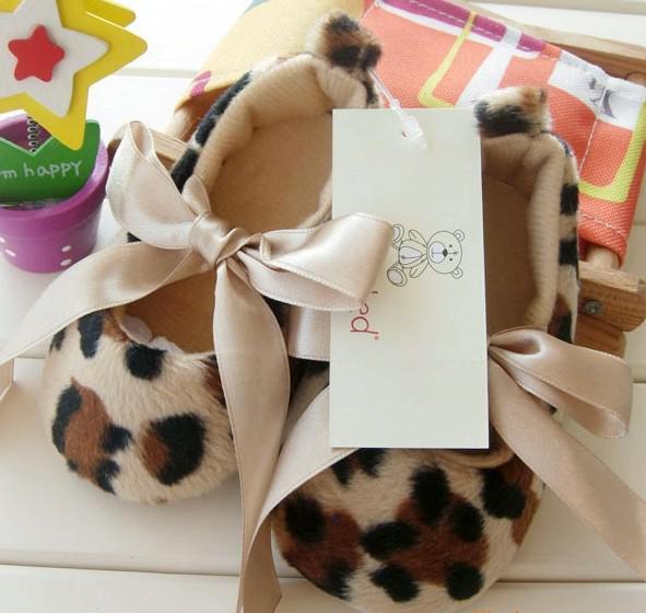 Leopard Baby Shoes Wholesale