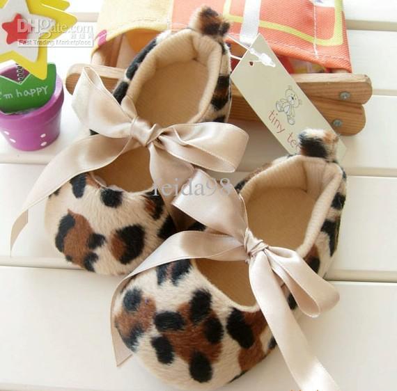 Горячие десять тысяч пар леопарда женщина принцесса малыша обувь европейский стиль Детская обувь