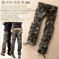 Wholesale Cargo Pants Style Women - New Women Cargo Combat Style Trouser Casual Camouflage Pant Trouser High Quality Free shipping