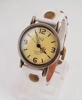 Wholesale Cow Leather Wrap Watch - Genuine Cow leather wrist watch wholesale fashion Wrap wrist watch men women ladies KOW034