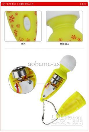 NEW 1.5*6.5cm cute mini AV magic wand massager G spot vibrator stimulator dildos sex toy for women