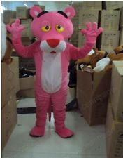 Wholesale Halloween Pink Panther Costume - New Pink Panther Mascot Costume Fancy Dress Halloween