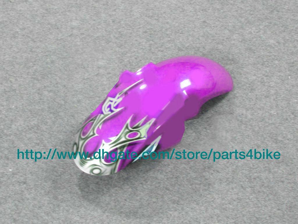 Venda quente custom carenagem kit de corrida para YAMAHA yzfr6 2003 yzf r6 2003 YZFR6 2003 motocycle roxo RX7w