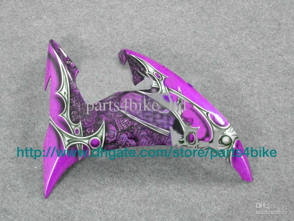 vente chaude kit de carénage de course personnalisé pour YAMAHA yzfr6 2003 yzf r6 2003 YZFR6 2003 moto RX7w violet