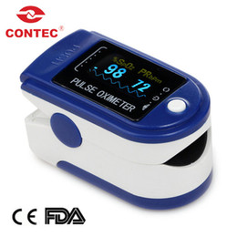 Spo2 Finger Canada - Wholesale-Pluse Oximeter,Finger SPO2 Monitor CMS50D with CE &FDA Approved+Free Shipping