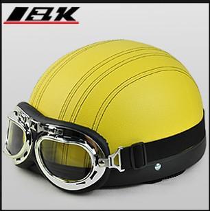 Venta al por mayor - Casco de moto nuevo casco de verano 2013 Casco de media cara Casco de moto Casco de bicicleta eléctrica con ABS y color azul