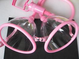 $enCountryForm.capitalKeyWord NZ - Transparent Plastic Manual Breast Pump Toys Bondage Gear Vacuum Suction Enhancer Bust Massager with Twin Cups for Women JD11CM