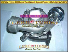 GT1749V 717858-5009S 717858-5008S 717858-0005 038145702G turbocompresor turbo para Audi A4 A6 Skoda Superb Passat 2009- 1.9L Tdi AWX AVF 130HP desde fabricantes