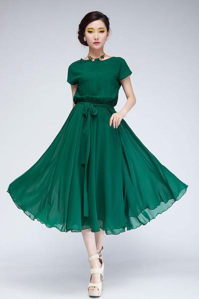 Повседневные женские платья лето