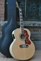Wholesale Maple Acoustic - 200 Natural Peter Townshend Acoustic Electric Guitar Back Side Tiger+ Fishman mic 301 pickup