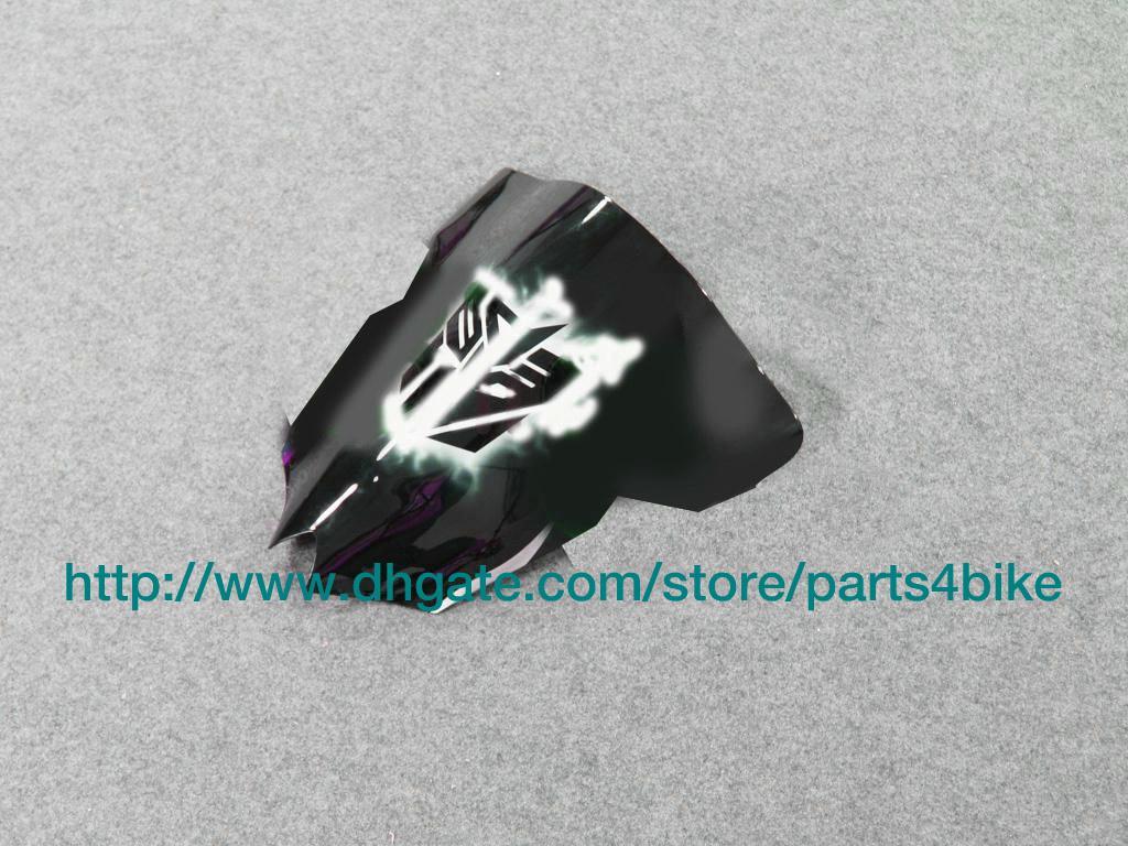 ABS Plastic Fairing Kit ForyamaHA YZF R6 2009 YZFR6 08 2009 YZFR6 2009 2009 Groene Paars Vlammen RX4P