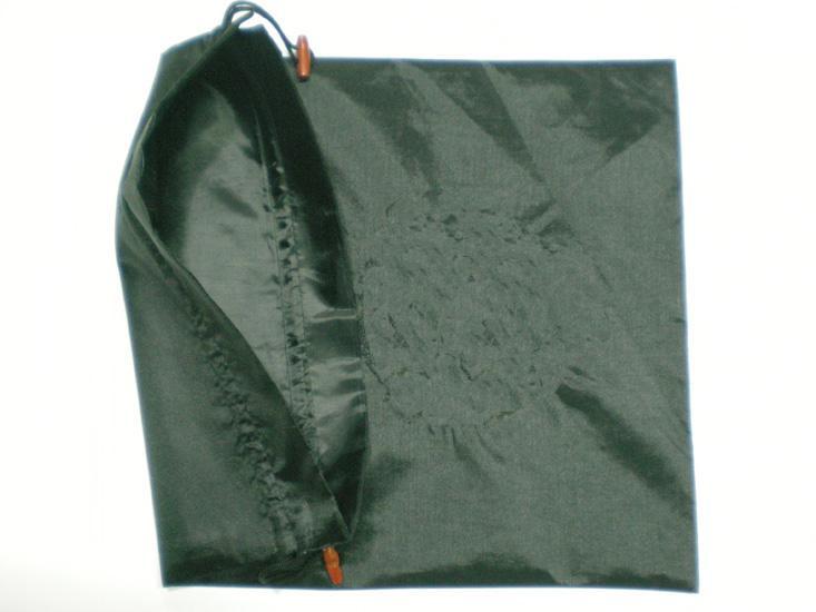Sacos de presente simples Sacos de Embalagem de Cordão de Seda Reutilizável Saco de Tecido 20x28 cm 10 pçs / lote Misturar cor Livre