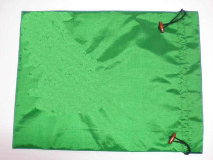 Grande Sacos de Presente Em Branco Saco de Seda Reutilizável Sacos de Armazenamento Com Cordão 20x28 cm 10 pçs / lote Mix cor Livre