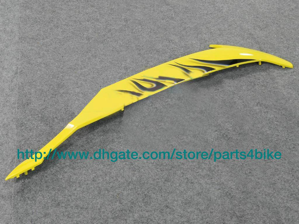 Kit de carenado personalizado para YAMAHA YZFR6 08 09 YZF R6 2008 2009 carenado de llamas amarillo negro RX7o